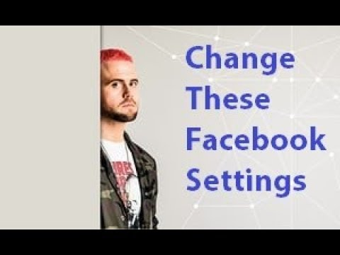 Don't #DeleteFacebook!  Change These Settings.