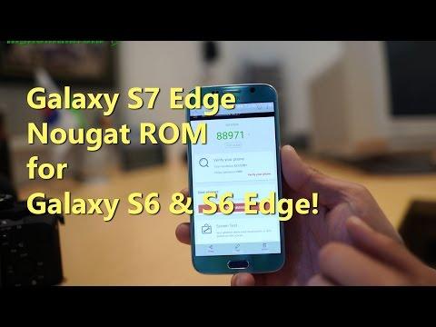 Galaxy S7 Edge Nougat ROM for Galaxy S6 & S6 Edge! [Nemesis ROM]