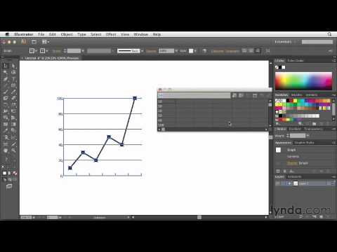 4-5. Customizing Charts in Illustrator-Defining the value scale for a chart.mov