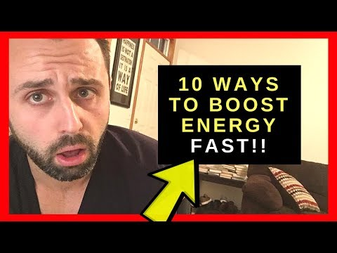 10 Ways To BOOST ENERGY And Increase Self Motivation