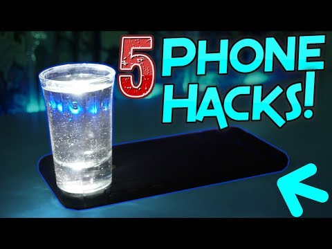 5 PHONE HACKS EVERYONE MUST SEE!