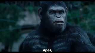 Luyện nghe tiếng anh qua trailer - Dawn of the Planet of the Apes