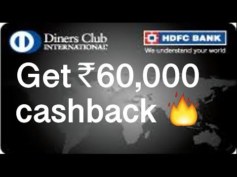HDFC Diners Black - Best Credit Card for Cashback and Travel in India