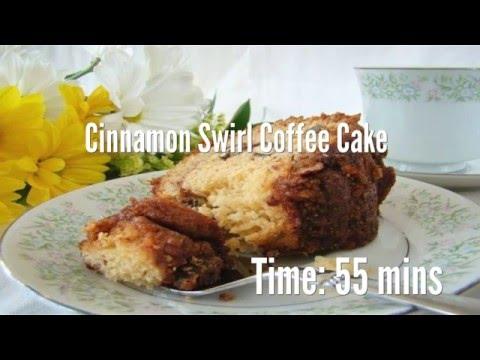 Cinnamon Swirl Coffee Cake Recipe