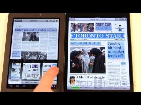 Kobo Arc vs Apple iPad Mini