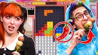Hot Pepper Punishment Tetris