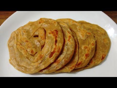 Homemade Whole Wheat Parotta ( paratha ) Recipe | ഗോതമ്പ്  പൊറോട്ട  ഉണ്ടാക്കുന്ന വിധം