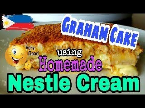 Pinoy food| How to make Graham cake without Nestle cream