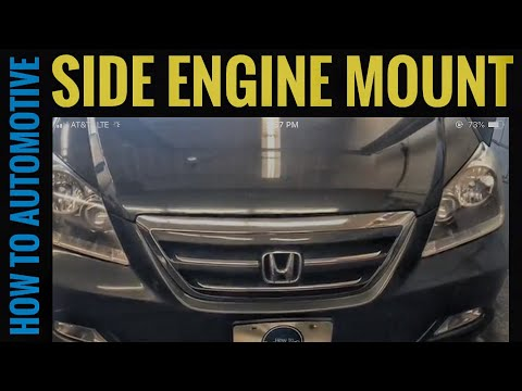 How to Replace the Side Engine Mount on a 2005-2010 Honda Odyssey