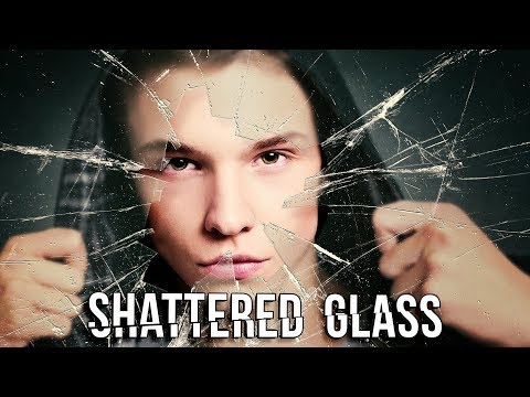 Photoshop: How to Create  a Portrait behind Shattered Glass.