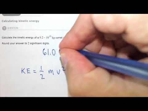 7.1b Calculating kinetic energy