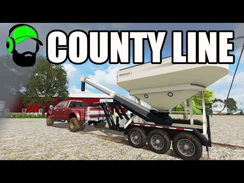 Farming Simulator 17 - County Line - A new pick up and tender #FS17