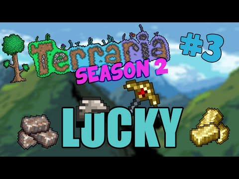Let's Play Terraria 1.2.4 iOS/Android - EASY EPISODE! Lucky Mining! - 3 #2