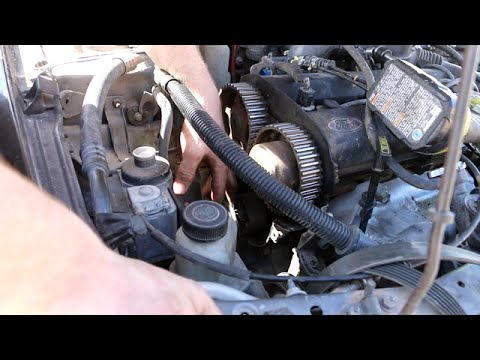 How to Replace Timing Belt on a Ford Escort ZX2