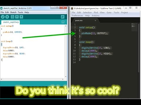 How To Change Arduino IDE Theme