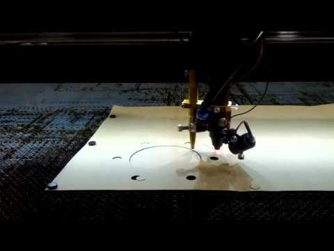 Laser Cutting a gasket
