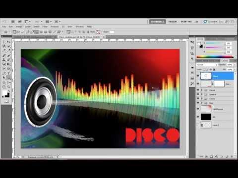 Photoshop CS5: Making a Disco Wallpaper