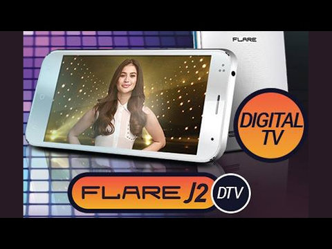Cherry Mobile Flare J2 DTV unboxing Philippines
