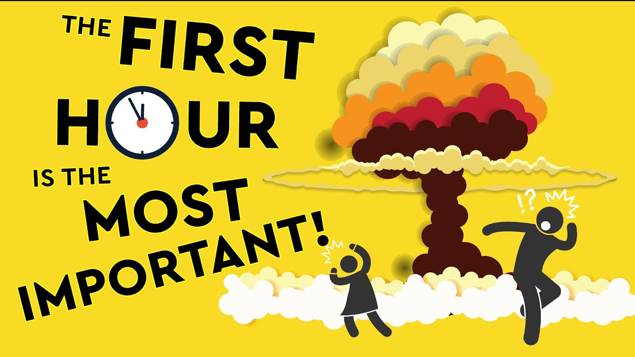 How To Survive The First Hour Of A Nuclear Blast / Fallout! DEBUNKED