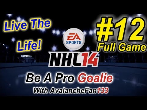 NHL 14 - Be A Pro - Goalie - Episode 12: Game 67 of My First Season *Full Game*