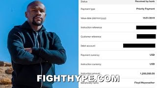 Download MAYWEATHER PULLS OUT RECEIPTS; WAS PAID $2.2 MILLION FOR OLD & REMATCH ″WILL NEVER HAPPEN″ Video