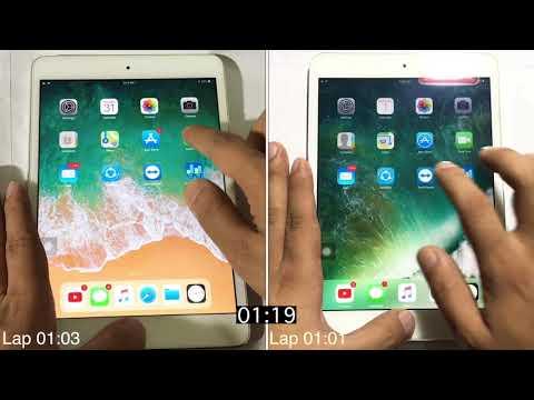 iOS 11.2.5 Beta 2 vs iOS 10.3.3 Speed test on iPad mini 2 | Geekbench test