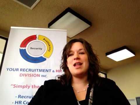 Your Recruitment & HR Division explains how recruitment agencies work- Tutorial