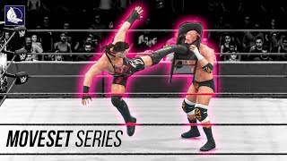 The Jaw-Dropping Moveset of Rob Van Dam in WWE 2K18
