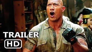 JUMАNJІ 2 International Trailer # 3 (2017) New Footage, Dwayne Johnson Adventure Movie HD