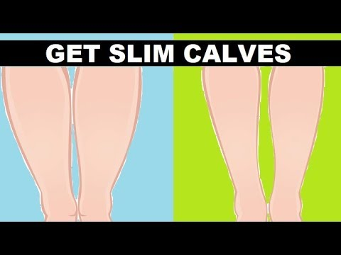 How To Slim Down Your Calves Fast: Get Slimmer Legs in 3 Weeks