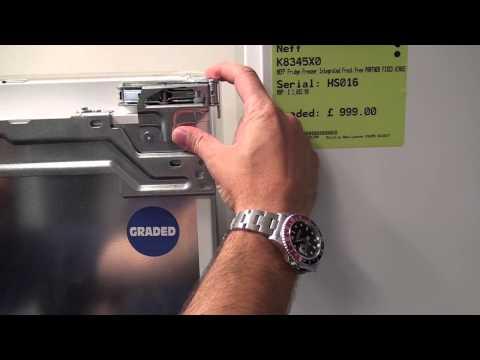 Showing you the difference between fixed door and sliding door fixing built in fridge freezers