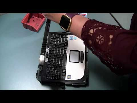 How to Replace Your Toughbook CF-19 Top Antenna Wire Cover & Bezel