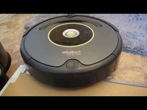 iRobot Roomba 645/650 Dust BIn Removal and Cleaning