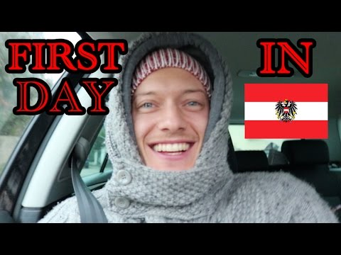 Crazy First Day Back In Austria!