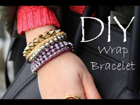 DIY Wrap / Stacked Friendship Bracelets EASY How To Make