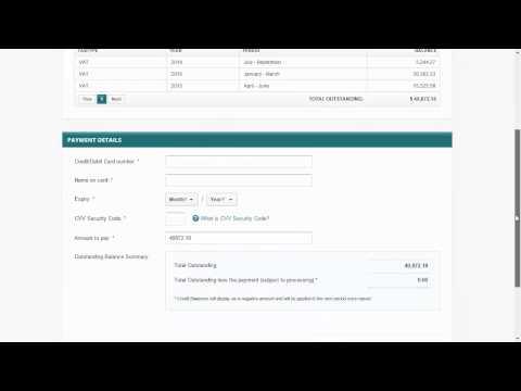 How to make a VAT Bahamas Payment