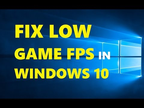 How to Fix FPS Drops in Games [ Windows 10 Tutorial ] Simple & Working 2018