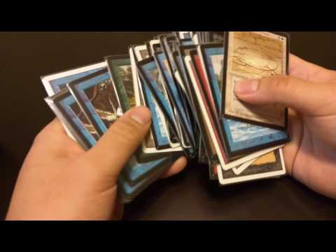 Pokemon collector stumbles upon potentially rare and expensive magic the gathering cards