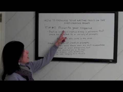 How to Showcase Your Writing Skills on The SSAT Creative Essay Prompt