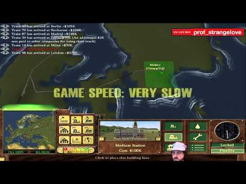 Railroad Tycoon 3 - European Tycoon! #4 [1.06 Fanpatch]