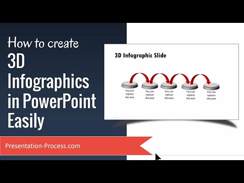 How to create Animated 3D Infographics in PowerPoint Easily