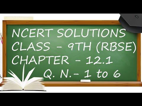Q. No. 1 to 6 Ex. 12.1.Ch 12. TSA, LSA & Volume Of Cuboide & Cube Class 9th Maths