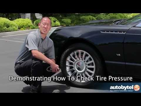 How to Check Tire Pressure & Where to Find Recommended Tire Pressure - ABTL Auto Extras
