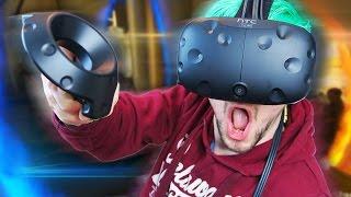 PORTAL IN VR | Portal Stories VR (HTC Vive Virtual Reality)