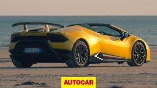 Lamborghini Huracan Performante Spyder 2018 review   Autocar
