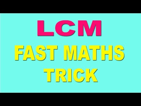 LCM Trick and Shortcut For Fast Maths Calculation - Hindi (2016)
