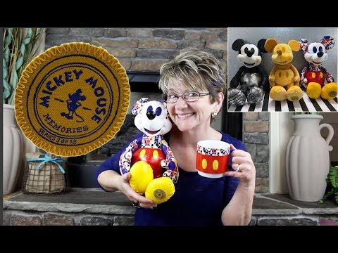 DISNEY'S MICKEY MOUSE MEMORIES PLUSH AND STACKABLE MUG LIMITED RELEASE SERIES -  #3 OF 12