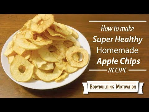 How to make Apple Chips | Super Healthy Homemade Apple Chips