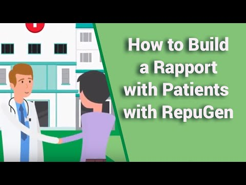 How to Build a Rapport with Patients with RepuGen - Practice Management Software