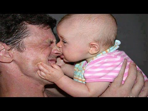 DADDY PLAYING WITH BABY! Will Melt Your Heart!! (Cute Baby Videos) 2017 *New*